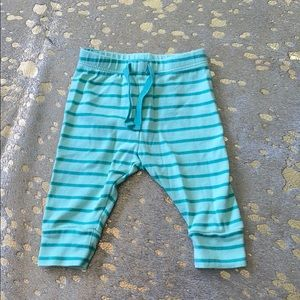 Baby Green Striped Pants